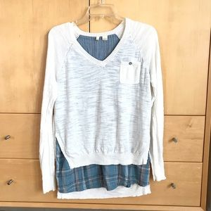 Anthropologie MOTH Lightweight Summer Sweater S